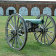 Stock Photo: Civil war cannon