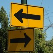 Stock Photo: Left & Right Arrow