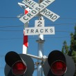 Railroad Crossing - Stockfoto