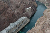 Below Hoover Dam — Stock Photo