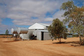 Outback cattle station — Stock Photo
