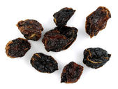 Dried habanero chilis — Stock Photo
