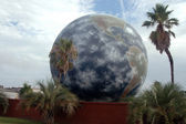 Giant globe — Stock Photo