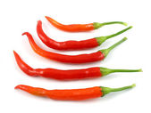 Cayenne peppers — Stock Photo