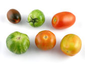 Heirloom tomatoes — Stock Photo