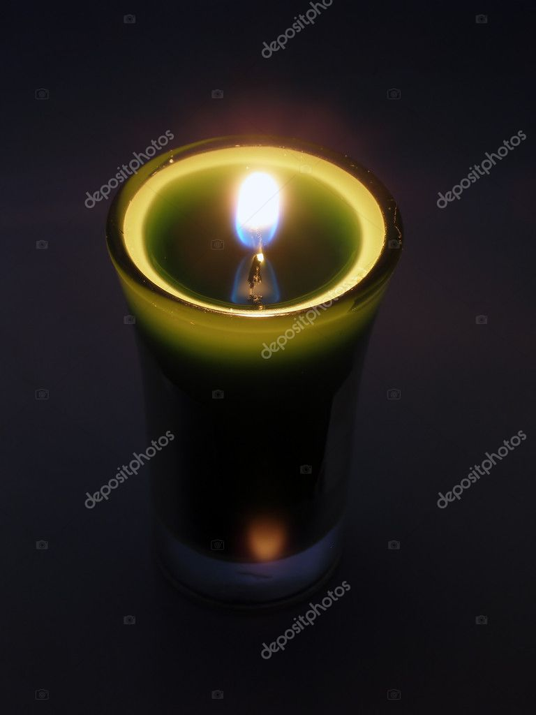 Candlelight in a glass  Stock Photo #1966846