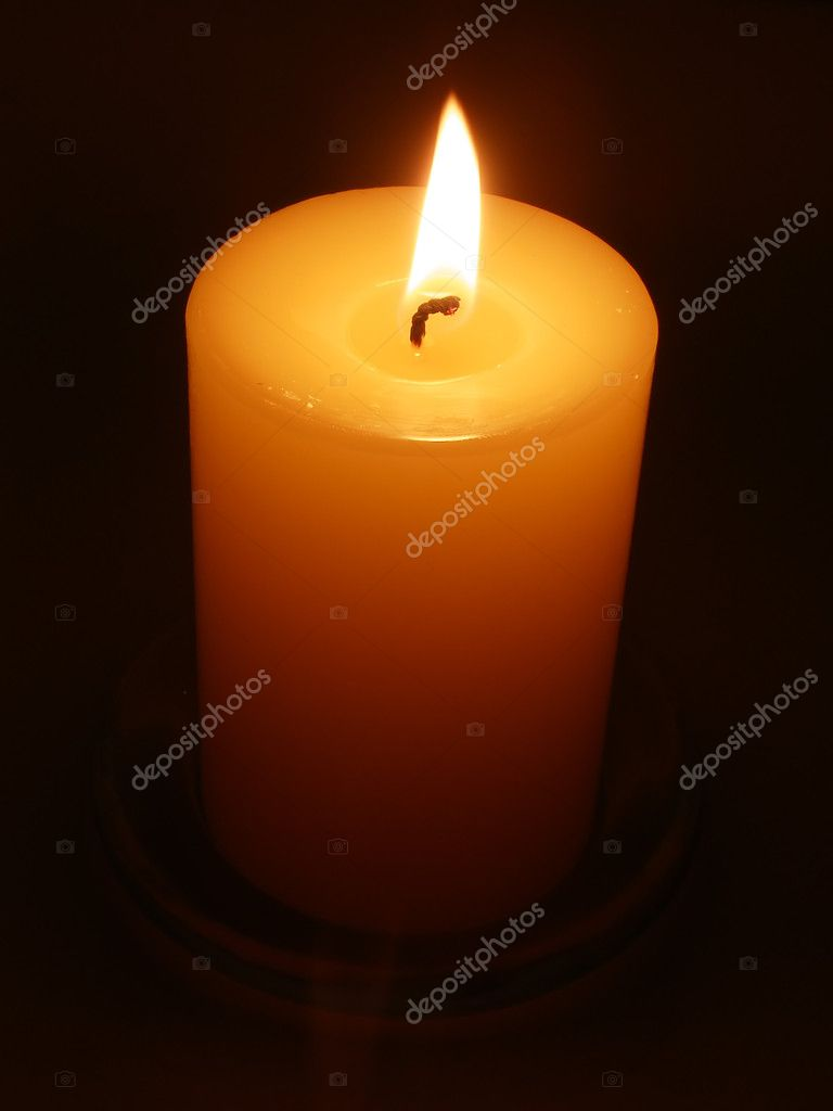 Candle by candlelight — Stockfoto #1967992