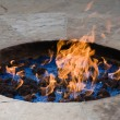 Fire pit - Stock Photo