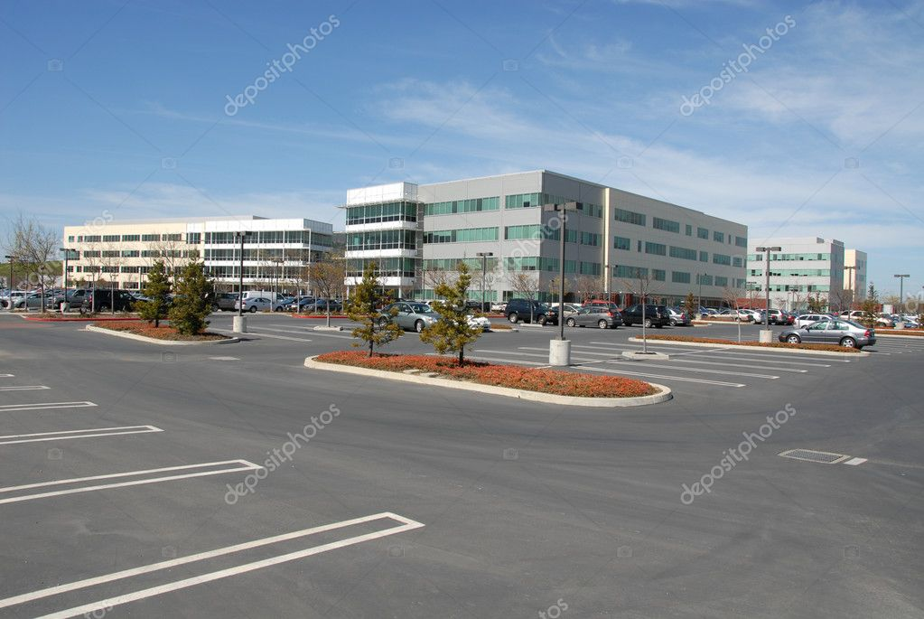 Silicon Valley office park, Mountain View, California — Stock Photo #2422251