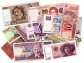 Currencies — Stock Photo