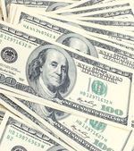 Banknote background — Stock Photo