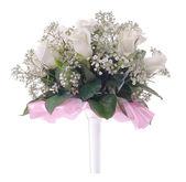Wedding roses bouquet — Stock Photo