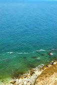 Mořská voda a písek — Stock fotografie