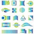 Stock Vector: Set of vector design elements