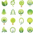 Set of tree — Vector de stock #2002389