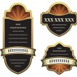 Set of vector labels — Stock Vector #2002798