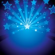 Vector background with stars — Stock Vector #2003660