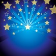 Background with stars — Stock Vector #2003683