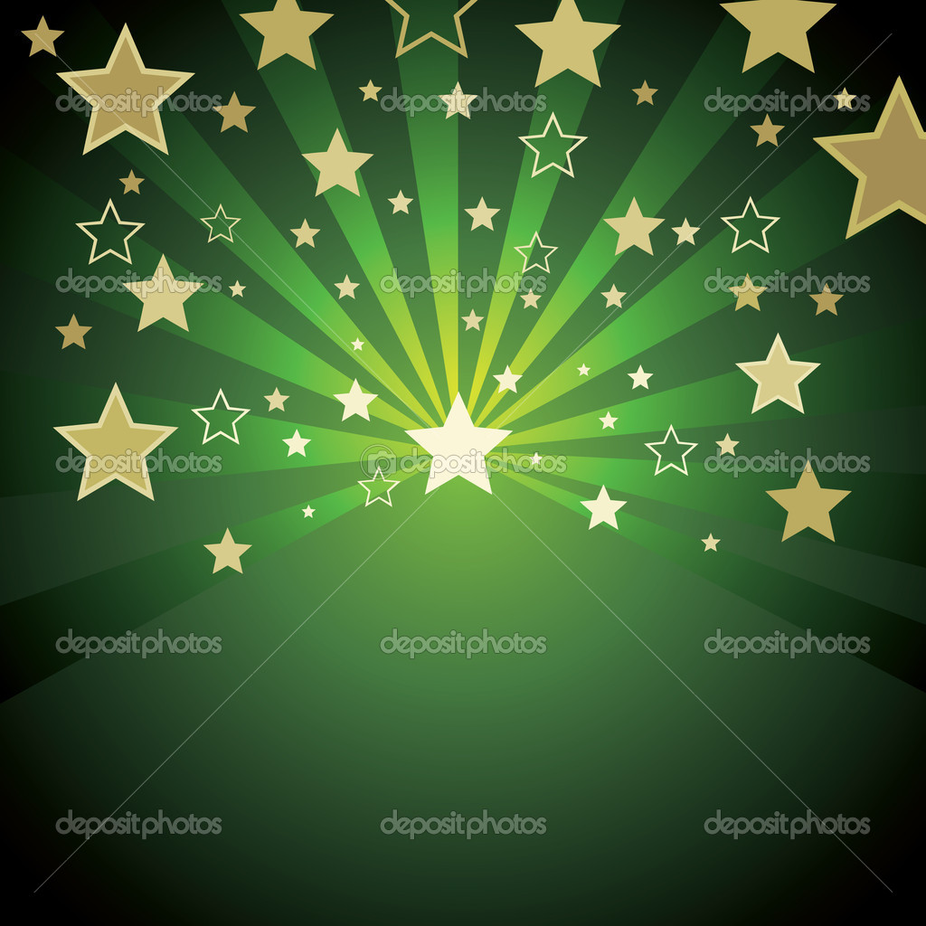 Background with stars — Stock Vector #2003717