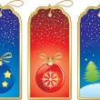 Royalty-Free Stock Vector Image: Christmas label