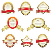 Set of labels — Stock Vector