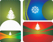 Vector christmas cards — Stock Vector