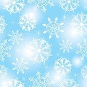 Plano de fundo sem emenda do floco de neve — Vetorial Stock