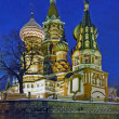 Stock Photo: St Basils Cathedral in Moscow