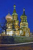 St Basils Cathedral in Moscow — 图库照片