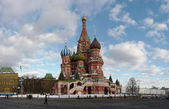 St Basils Cathedral in Red Square — Stock Photo