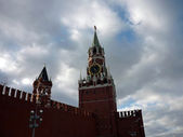 Spassky tower of the Moscow Kremlin — Stock Photo