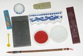 Tool kit for china calligraphy — Stock Photo
