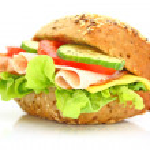 Fresh sandwich — Stock Photo