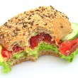 Fresh sandwich — Stock Photo #1927480