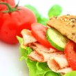 Fresh sandwich — Stock Photo #1928253
