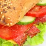 Fresh sandwich — Stock Photo #1928781