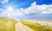 Beautiful day at the North Sea — Stock Photo