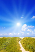 Beautiful day at the North Sea — Stock Photo