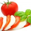 Stock Photo: Tomato mozzarella