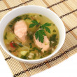 Stock Photo: Fish soup