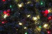 Christmas tree close-up — Stock Photo
