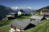 Zwitserse dorp — Stockfoto
