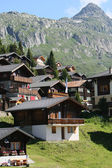Swiss village — Stock Photo