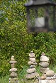 Stones and light — Stock Photo