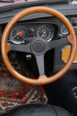 Steering wheel — Stock Photo