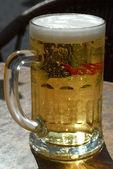 Refreshing beer — Stock Photo