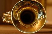 Trumpet opening — Stock Photo