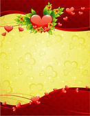 St.Valentine's background — Stock Vector