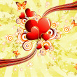 St.Valentine&#039;s background - Stock Vector