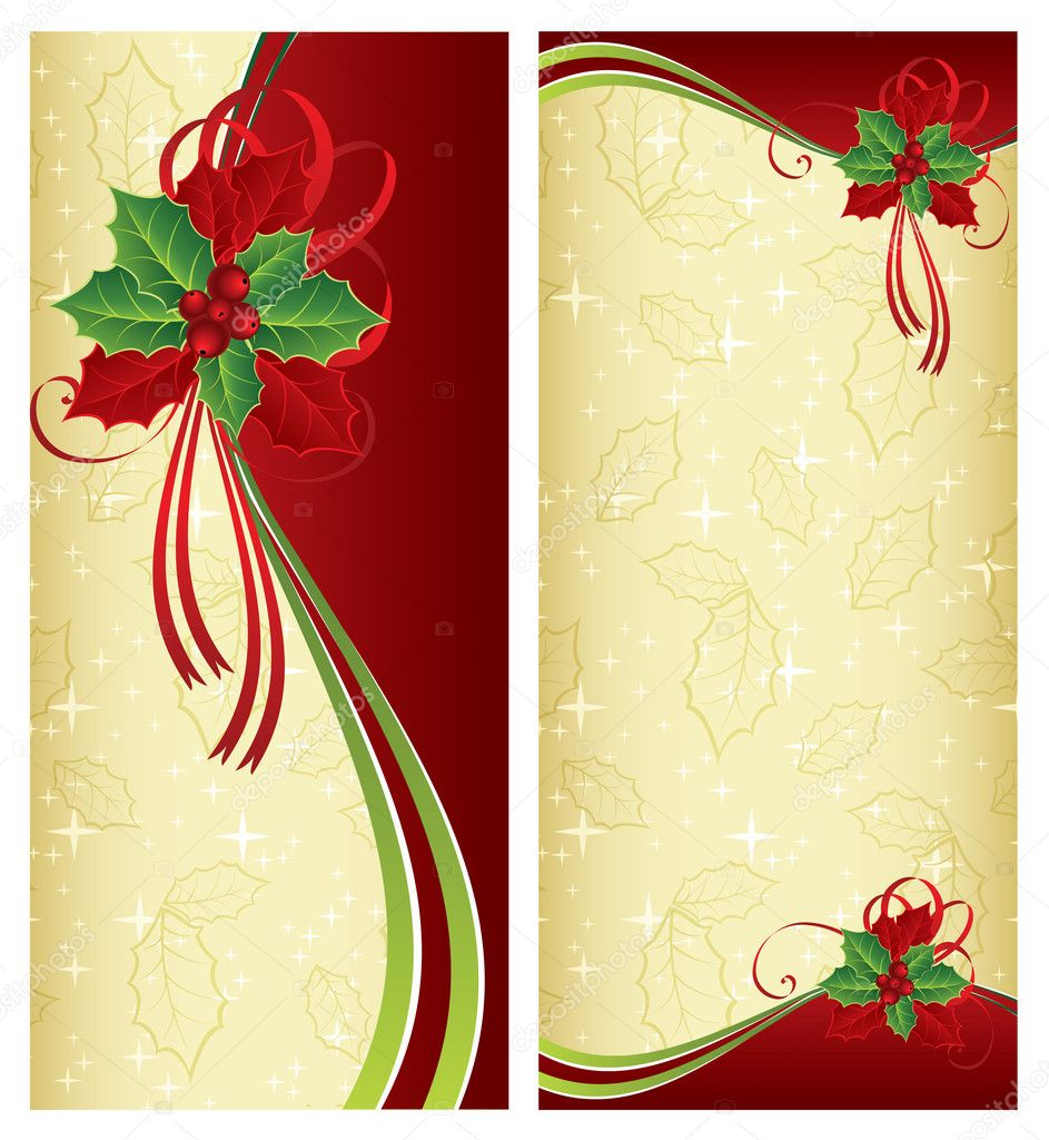 Christmas and New year's design — Stock Vector #1947185